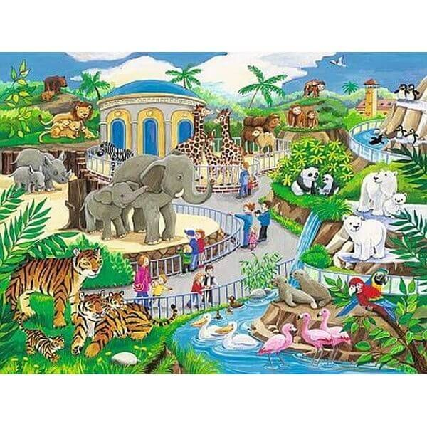 Kids Jigsaw Puzzles: Zoo Fun