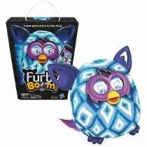Boneco Furby Boom Figure Azul Celeste Branco Português preço R$355,99 parcelamos em 10x no catao e vc so paga no mes que vem