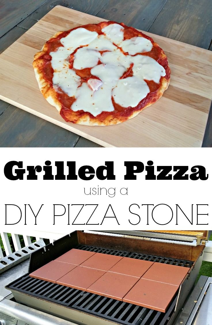 Delicious Grilled Pizza + DIY Pizza Stone — Decor and the Dog