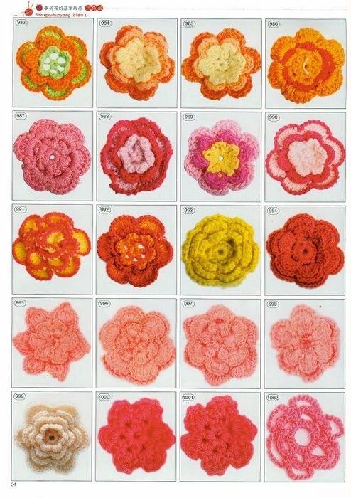 Free crochet patterns Flowers and more 2180 crochet motif magazines | make handmade, crochet, craft