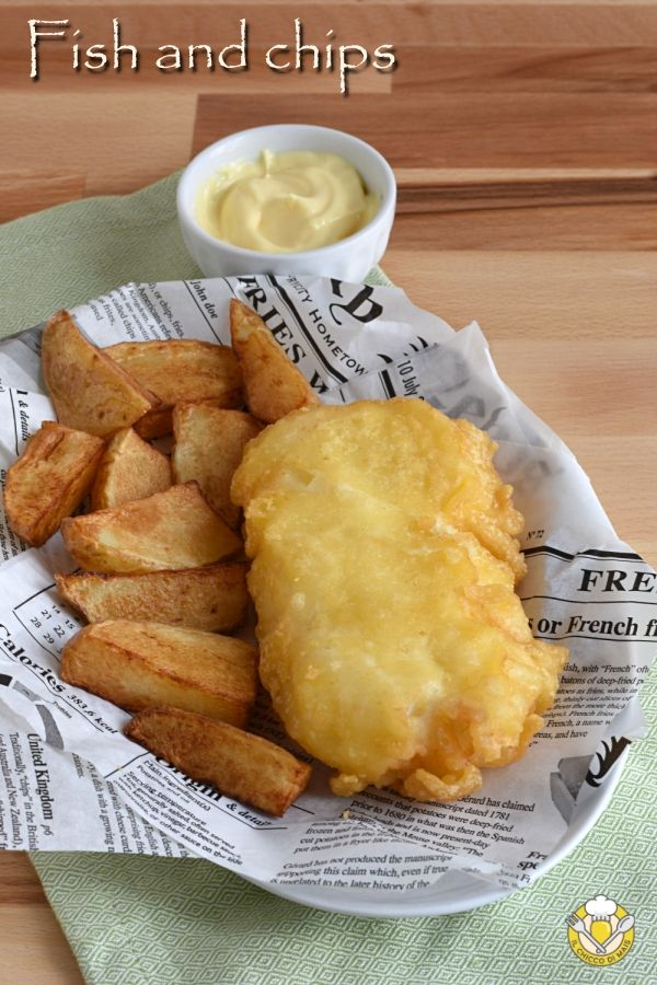 premium selection 41892 5ff61 Fish and chips, il tradizionale #streetfood inglese sfizioso ...