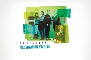 Illustration - Campagne «Destination emploi»