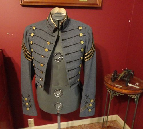 Early 1900 Virginia Military Cadet Gray Uniform Soldier Jacket ...