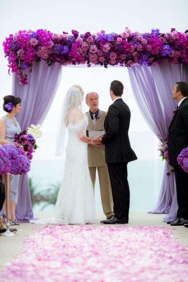 Décoration de mariage : nos astuces et conseils - http://www.instemporel.com/blog/index/billet/10798_decoration-mariage-violette #wedding #purple