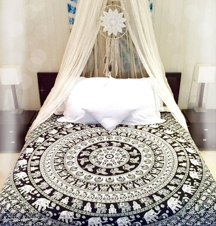 Indian Bohemian Hippie Mandala Bedding Set Queen Size Bedspreads Bed Cover Throw in Home & Garden,Bedding,Quilts, Bedspreads & Coverlets | eBay