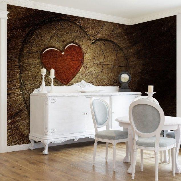 die 25+ besten ideen zu fototapete holz auf pinterest | wohnzimmer ... - Fototapete Wohnzimmer Braun