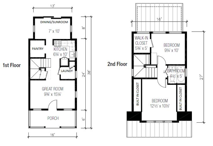 This Is The Floor Plan For My Tiny Dream Home Tumbleweed Houses B - B53 tumbleweed house
