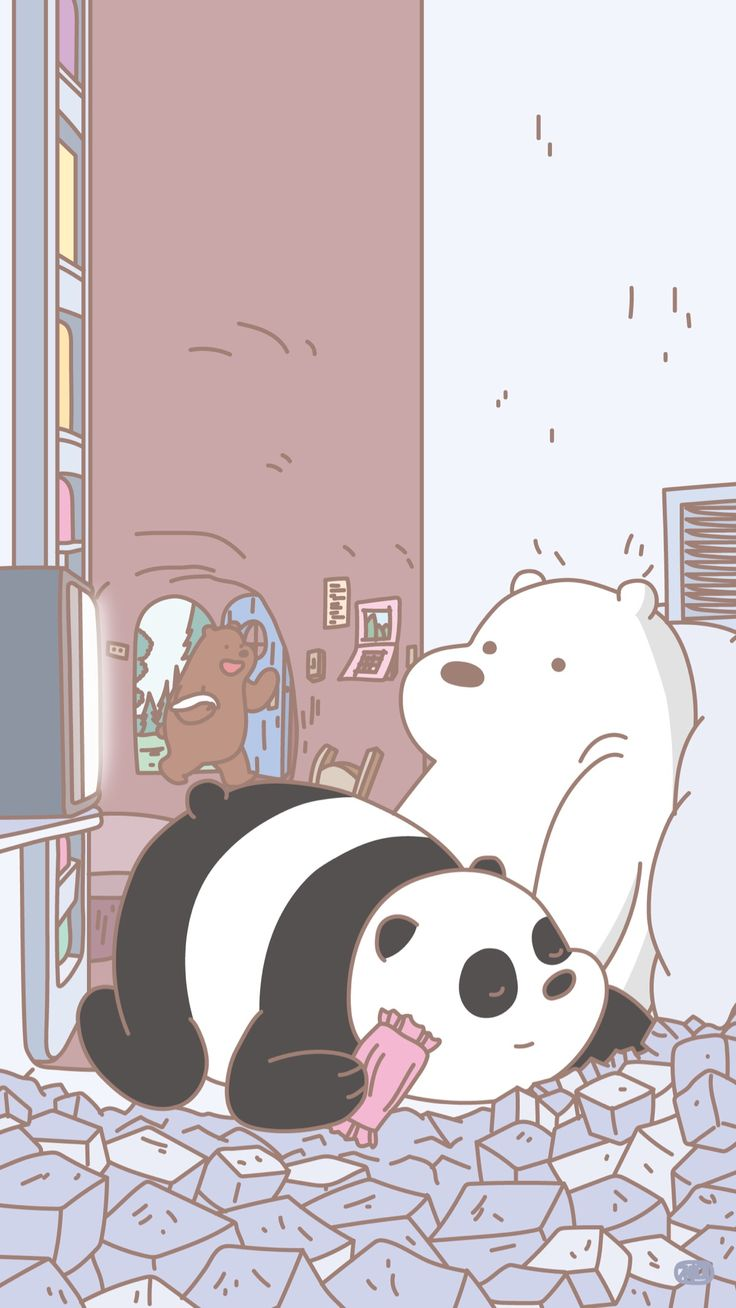 We Bare Bears: Grizz, Panda, Ice bear