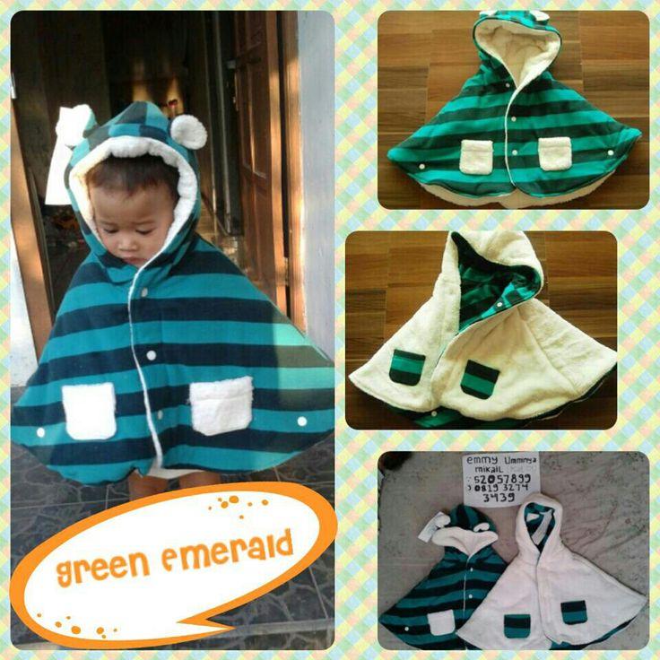 #BabyCape #JaketSelimut #GreenEmerald BBM:52057899