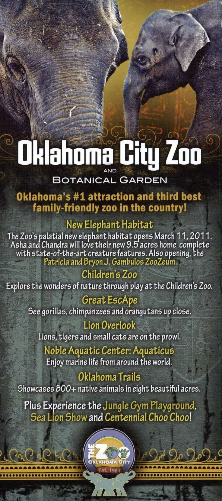 Oklahoma City Zoo!