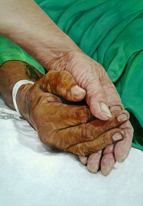 To have and to hold... By Sharon Siew Suan Kow. Colored Pencils.