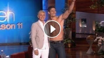 Clint Eastwood's Son... and Ellen's!: Everyone's buzzing about Clint Eastwood's handsome son! Ellen thought it was a good time to reveal…
