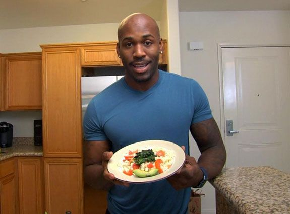 Dolvett Quince's 3 Must-Have Fridge Items plus Scrambled Egg Whites with smoked salmon, spinach & avocado (Video)