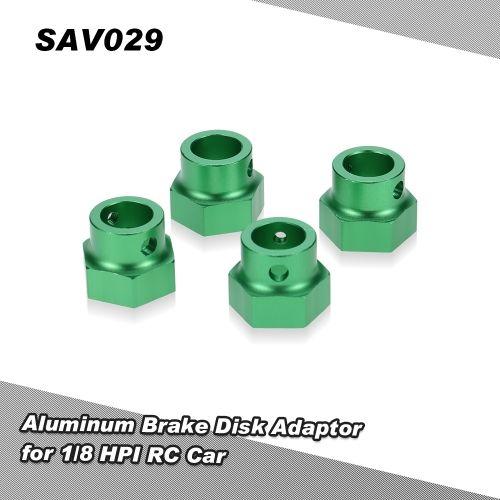SAV029 Aluminum Brake Disk Adaptor for 1/8 HPI Savage XL Monster RC Car