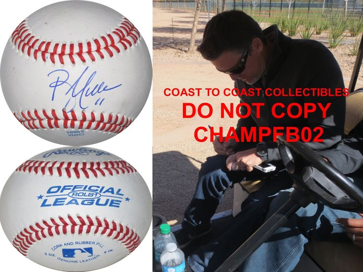 Bill Mueller, Boston Red Sox, Signed, Autographed, a COA with the Proof Photo of Bill Signing Will Be Included