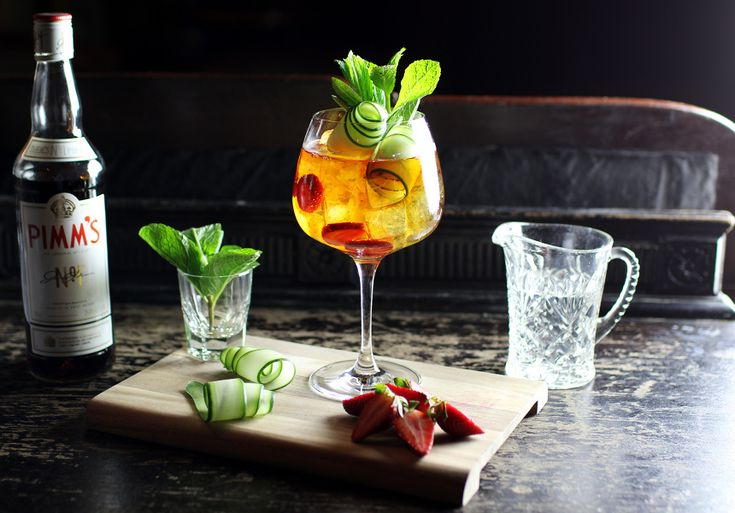 World Class Drinking | A Spring Pimm's | Broadsheet Melbourne - Broadsheet