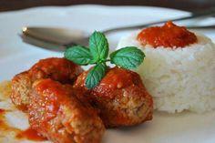Soutzoukakia - Smyrna meatballs
