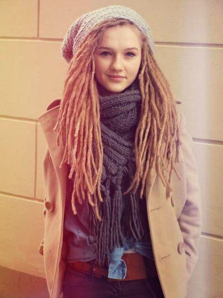 white girl dreads ideas