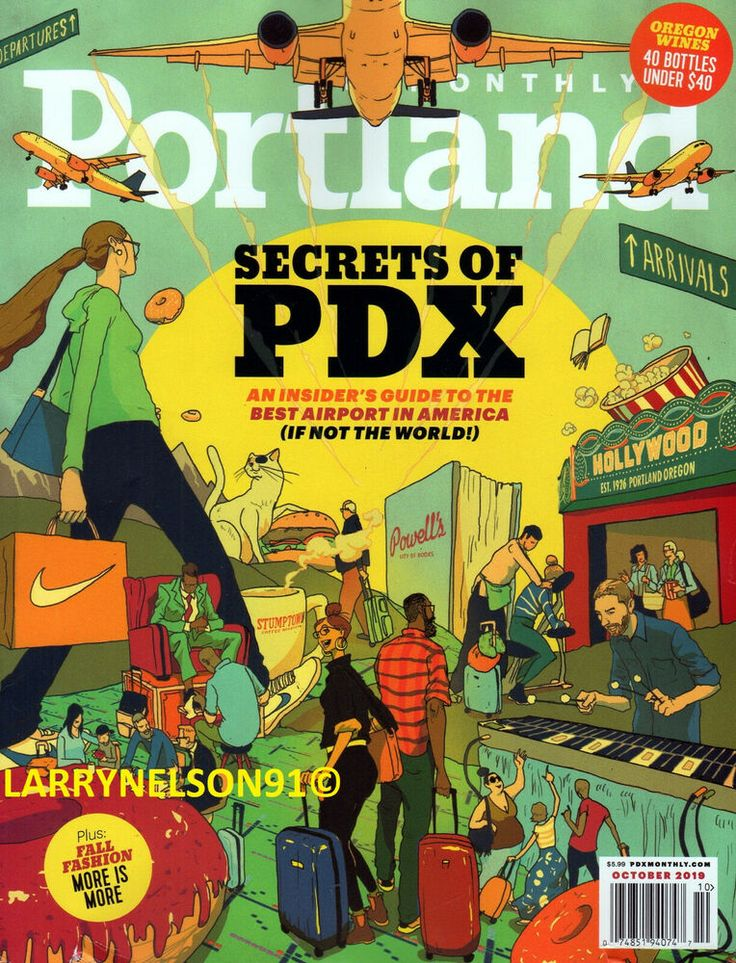 Portland Monthly Cover for 11/1/2018 | Magazine cover