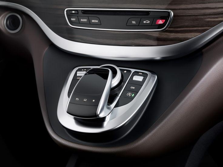 Dit is het interieur van de nieuwe Mercedes V-klasse