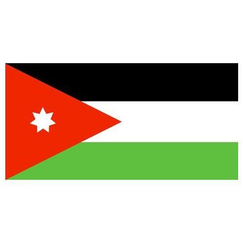 "Jordan Flag with Stick | 4"""" x 6"""""