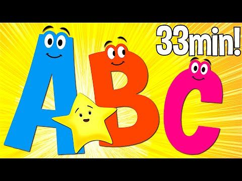 ABC Songs for Kids | A to Z (Uppercase) | Super Simple ABCs​ - YouTube