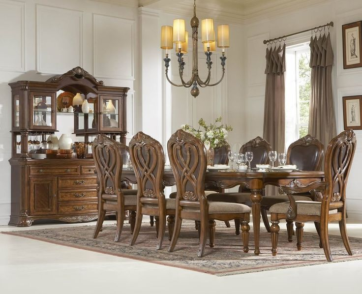 Classic Dining Room Table Set Furniture