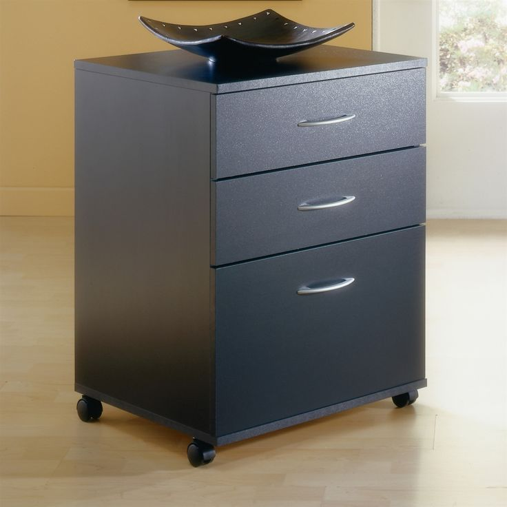 3 Drawer File Cabinets With Wheels