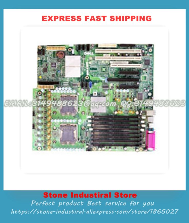 Motherboard For F9382 DT031 GU083 Precision 490 DUAL XEON Dual CPU Socket 100% Tested Good Quality