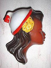 Cortendorf wand mask (Flckchen1) Tags: wall vintage mask jahre 50er cortendorf wandmaske