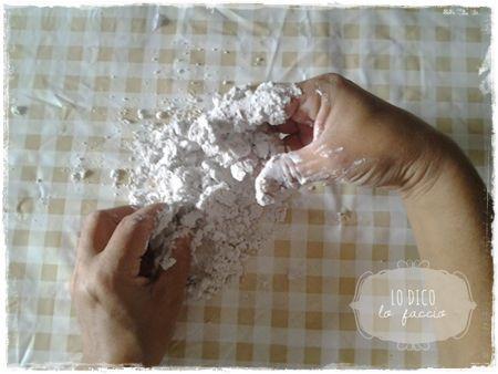 come fare  gessetti di borotalco tutorial