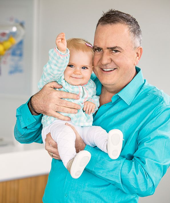 Simon Gault talks fatherhood