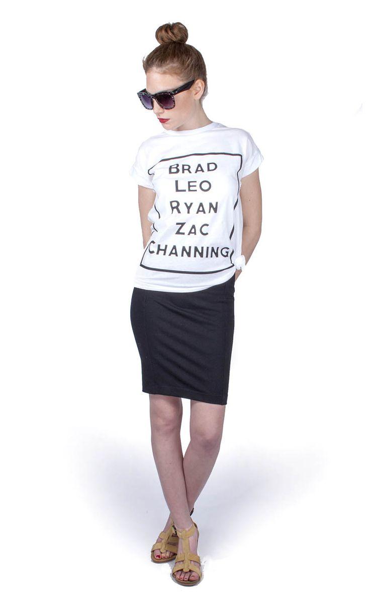 T-shirt: 3500.- Dohány utca és online: http://webshop.latomas.hu/Noiruha/Noifelsoresz/BLRpolo Ceruzaszoknya 3900.- Király utca