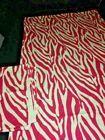 """Rosa weiße Zebra Animal Print Licht blockieren Vorhang Paneele Vorhänge 43 """"x 83"""" #Wi …   – Window Treatments & Hardware"""