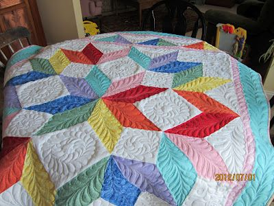@Missouri Star Quilt Company - If I won the Chevron Fat Quarter Bundle I would make ....a quilt of course!
