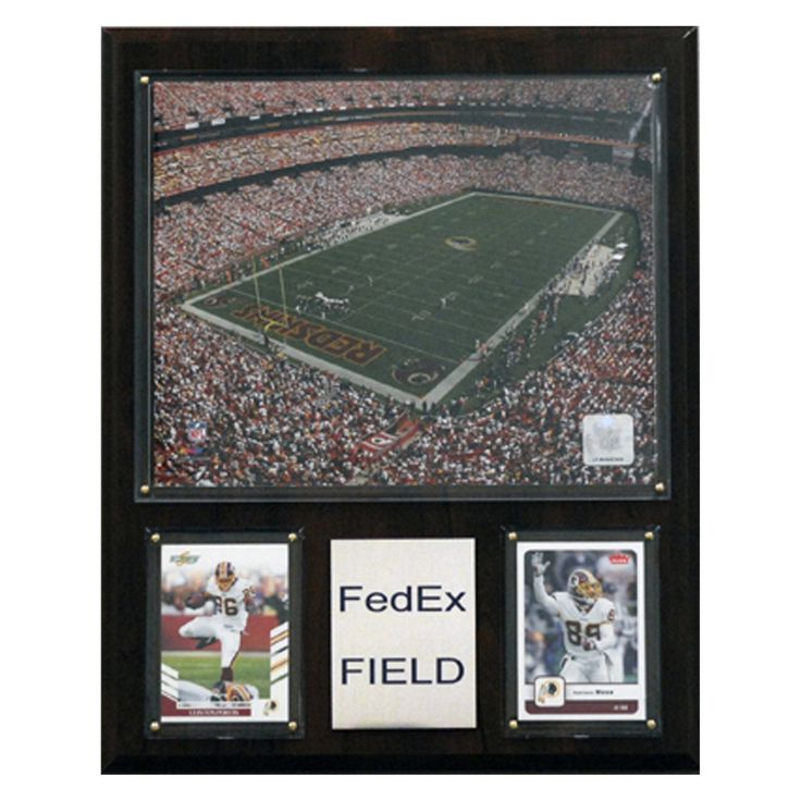 NFL 12 x 15 in. FedEx Field Stadium Plaque - 1215FEDEX