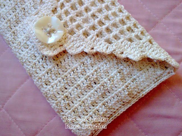Tecendo Artes em Crochet: Carteiras