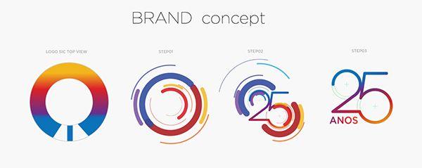 SIC | Rebrand 25 anos.