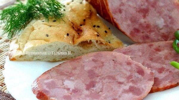 Колбаса Ветчинная полукопченая. Рецепты домашних колбас и мясных деликатесов в кулинарном блоге Татьяны М.