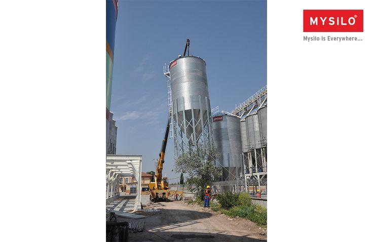 El mayor fabricante de Europa de silo Mysilo www.mysilo.com/es  #acero #cereales #silos #silo  #mysilo #almacenamientodegranos
