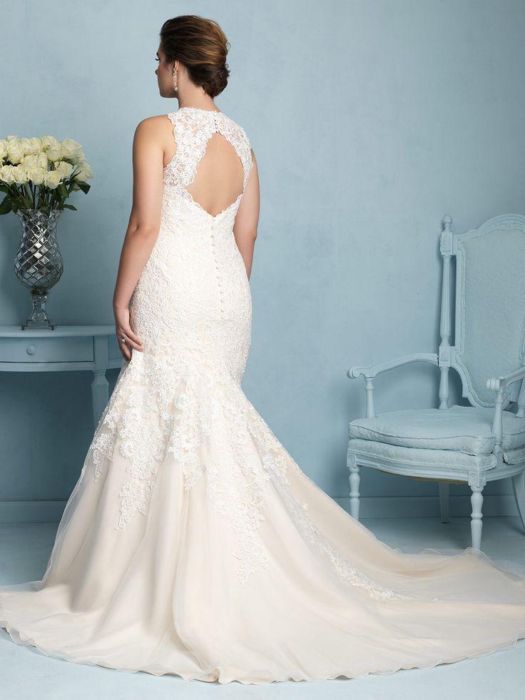 For the Plus Size Bride: Allure Bridals on TheCurvyFashionista.com #TCFBride #TCFStyle