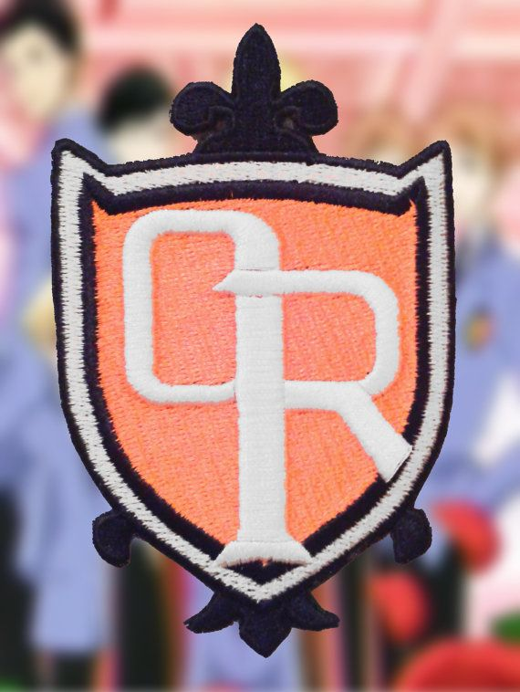 Ouran High School Host Club Anime Cosplay Sew-on Embroidered School Uniform Patch/Badge