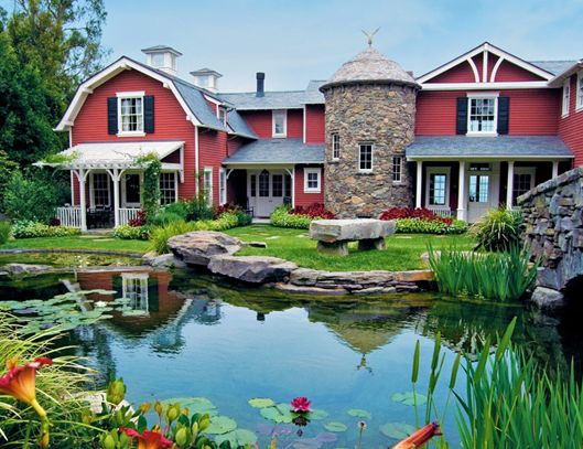 Guess Whose Dream Home Has A Barn Lakes Modern