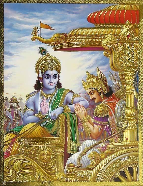 Krishna Arjun In Kurukshetra War Krishna Painting Lord Krishna Wallpapers Krishna Drawing Download hd wallpaper krishna arjun