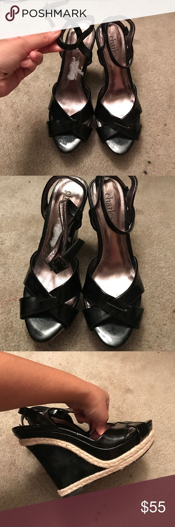 Charles by Charles David wedges They are in new condition (: Charles David Shoes Wedges