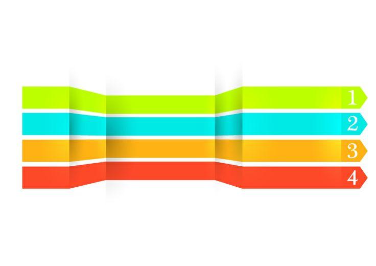 Colorful strip