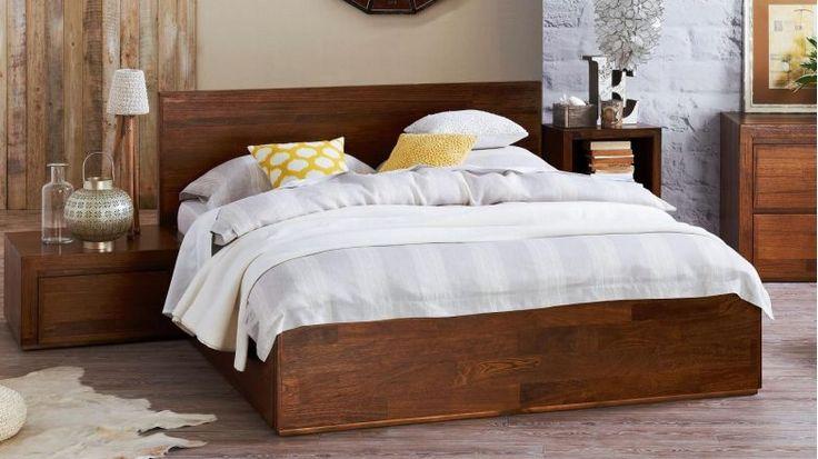 Pod II Queen Bed Frame | Domayne