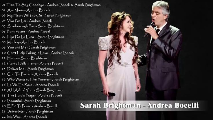 Andrea Bocelli,Sarah Brightman Greatest Hits - Andrea Bocelli,Sarah Brig...
