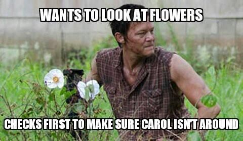 Walking dead humor!