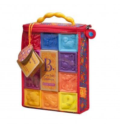 B.Toys Klocki Miękkie One Two Squeeze https://pulcino.pl/btoys/457-btoys-klocki-miekkie-one-two-squeeze.html